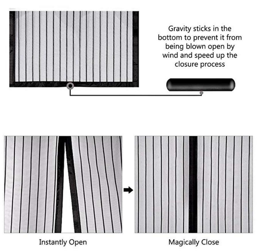 best magnetic screen door